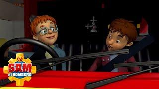 Norman y Derek | Sam el Bombero | Dibujos animados para niños | WildBrain en Español