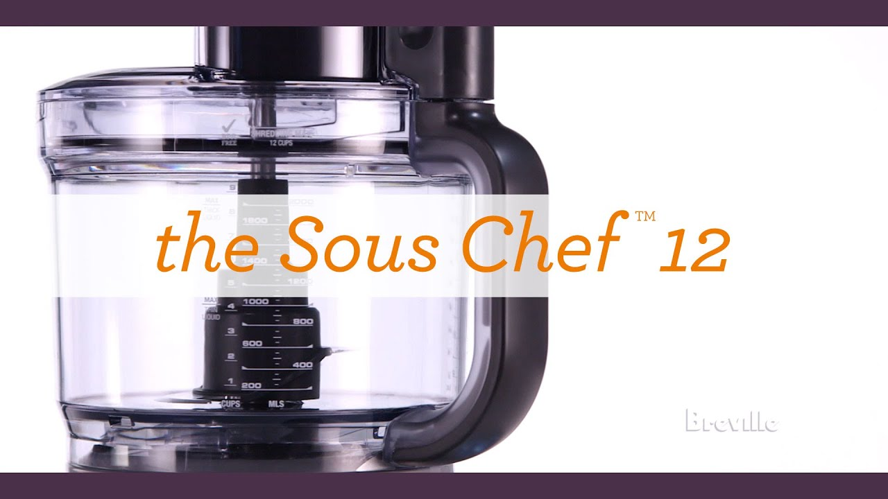 learn more about the breville sous chef 12 - Breville Food Processor