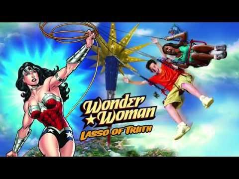 Six Flags America New for 2017- Wonder Woman Lasso of Truth Sneak Peek