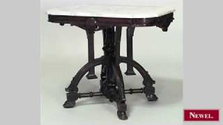 Antique American Victorian Eastlake Style Walnut End Table