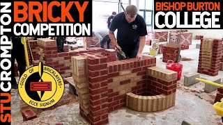 Bricklaying Competition at Bishop Burton College, Guild of bricklayers Regional