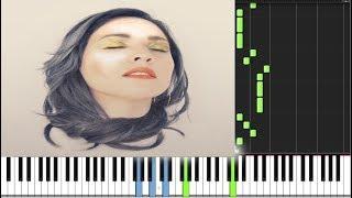 Disfruto - Carla Morrison PIANO TUTORIAL Más MIDI