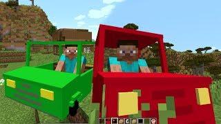 МАЙНКРАФТ МОДЫ - Мод на Машины, Мебель и Оружие ! Minecraft MOD - Custom NPS, CARS, GUNS
