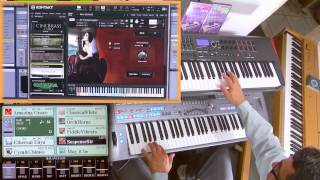 May it Be - Enya instrument Cover on Tyros5 & Vst Kontakt