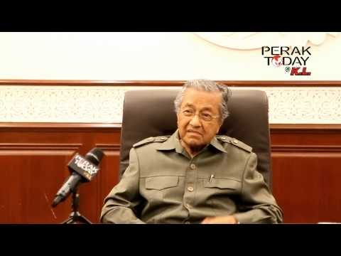 Tun Mahathir on BR1M