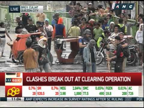 Violence erupts anew in Culiat demolition
