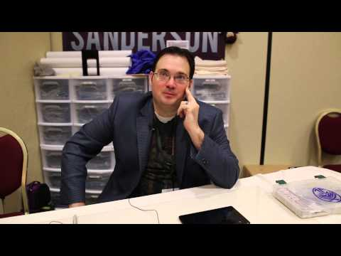 Brandon Sanderson Interview - Westercon 2014