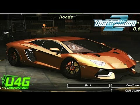 Lamborghini Aventador LP700-4 Need For Speed Underground 2 Mod Spotlight U4G