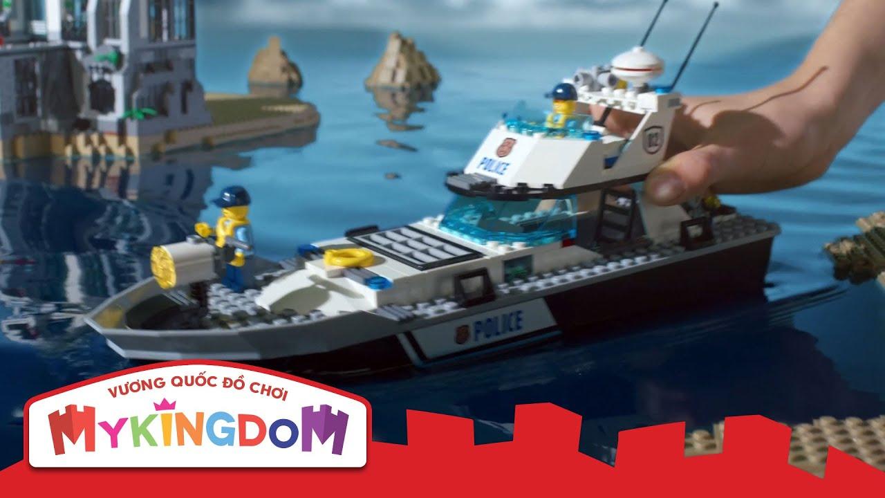 Đồ Chơi Xếp hình Lego City – Bộ Cảnh Sát Biển 2016