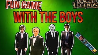 A normal game with the boys (FUNNY) - League of Legends -