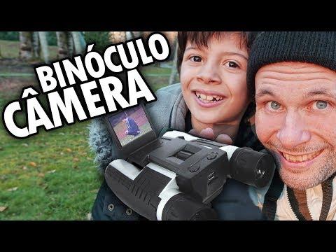 CÂMERA COM BINÓCULO! UNBOXING E TESTE - IPRee 12x32 Camera de Video Binocular