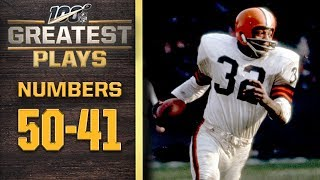 100 Greatest Plays: Numbers 50-41 | NFL 100