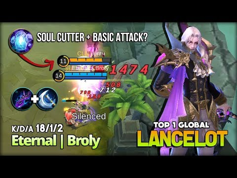 Nerf Me More! Lancelot Useless? I Don't Think So! Eternal | Broly Top 1 Global Lancelot ~ MLBB