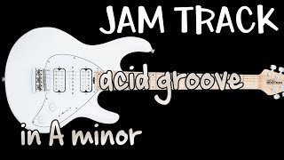 Acid Jazz Guitar Backing Track Jam in Am