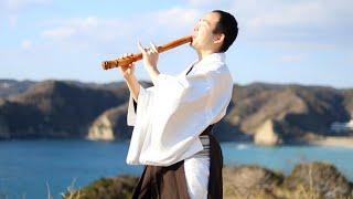 風といっしょに - ポケモン映画『ミュウツーの逆襲』/ Together with the Wind(Kaze to issyo ni ) ( Shakuhachi / Piano cover )