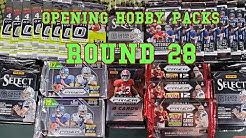 Random Football Card Hobby Pack Opening Round 28