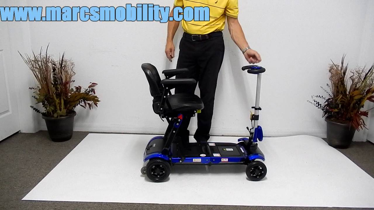 Drive Medical ZooMe FLEX Travel Scooter by Marc's Mobility