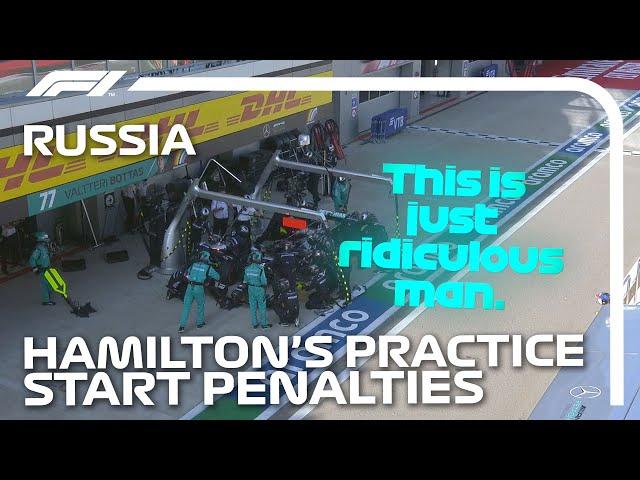 How Lewis Hamilton's Race Unravelled   2020 Russian Grand Prix