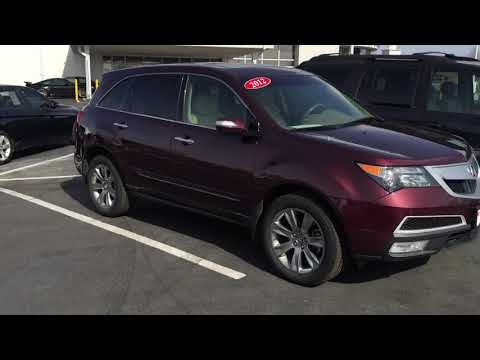2012 Acura MDX with Nathan Clark at Eurocars 719-660-3566