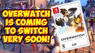 Overwatch Is Coming To Switch Very SOON! Leaked Official Nintendo Case!