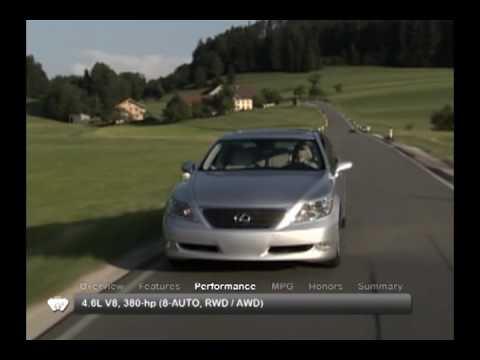 2009 Lexus LS 460 Used Car Report