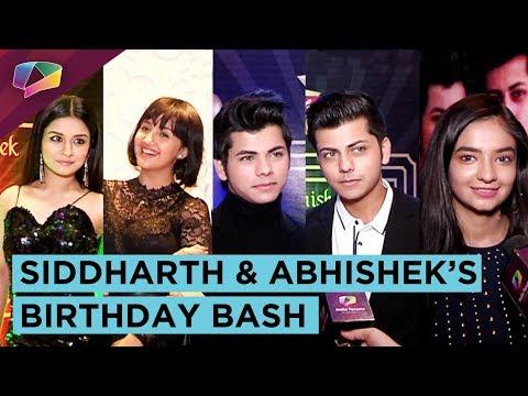 Siddharth & Abhishek Nigam's Birthday Bash With Friends Avneet, Anushka, Ashnoor & More