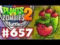 Battlez! Apple Mortar Epic Quest! - Plants vs. Zombies 2 - Gameplay Walkthrough Part 657
