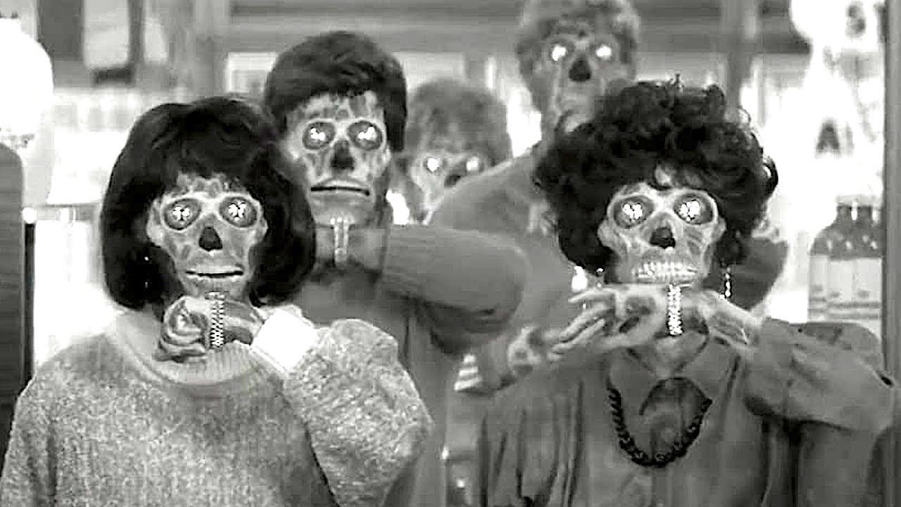 THEY LIVE Glasses Clip + Trailer (1988) John Carpenter Horror - YouTube