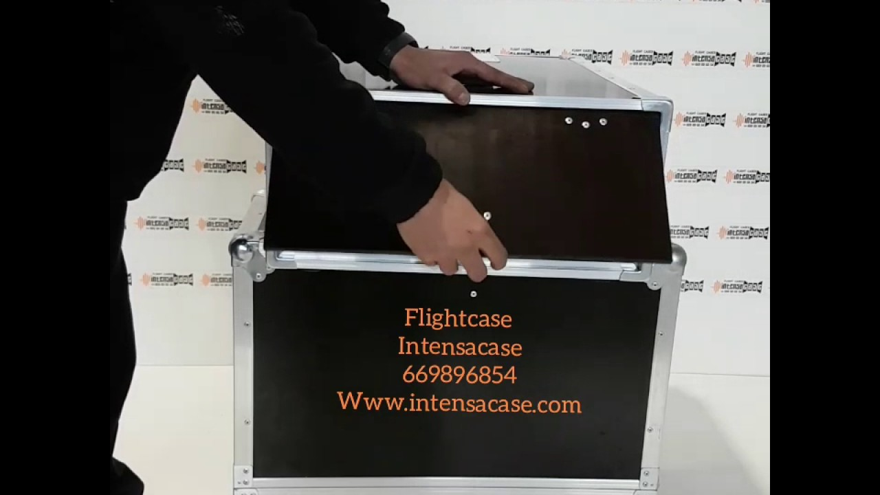 flight cases a medida www.intensacase - youtube