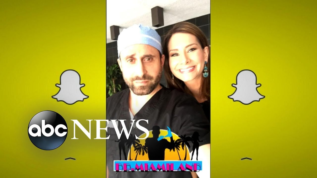 Dr Miami | Snapchat Plastic Surgeon Who Films His Surgeries