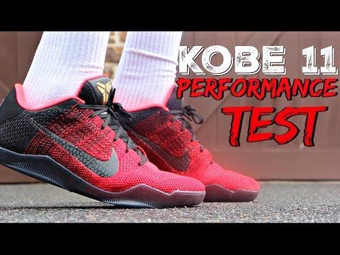Nike Kobe 11 Performance Test