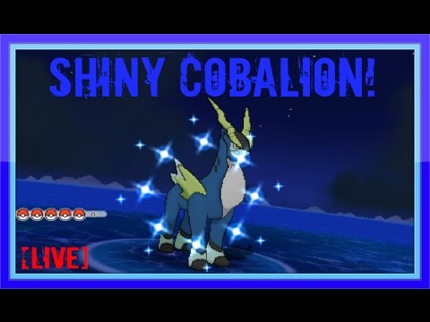 how to catch cobalion oras