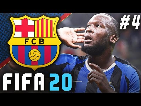 FIFA 20 Barcelona Career Mode EP4 - Facing Inter Milan In The Champions League!!