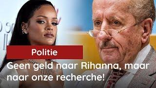 Hiddema tegen Grapperhaus: geef die 100 miljoen voor Rihanna aan onze politie!