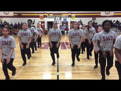 Stonewall Middle School Step Team!