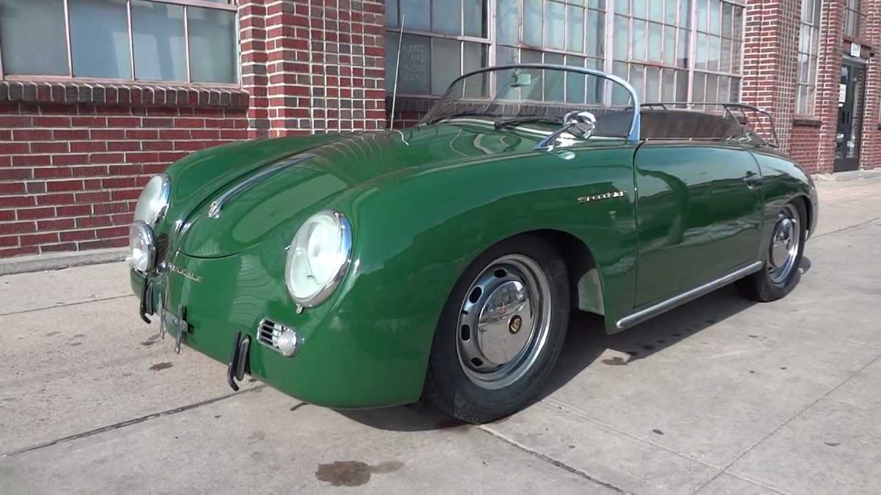1958 Porsche Speedster Intermeccanica Replica For Sale