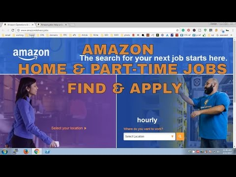 Find & Apply for Amazon Home & Part-time Jobs