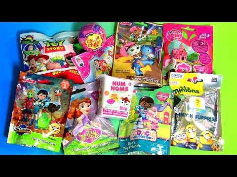 Blind Bags Collection MLP Peppa Pig Disney Palace Pets Sofia Toy Story Sheriff Callie Num Noms Miles
