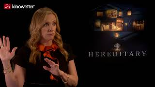 Interview Toni Collette HEREDITARY