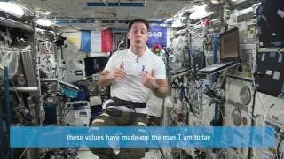 Message from Space - Judo Black Belt and Astronaut Thomas Pesquet