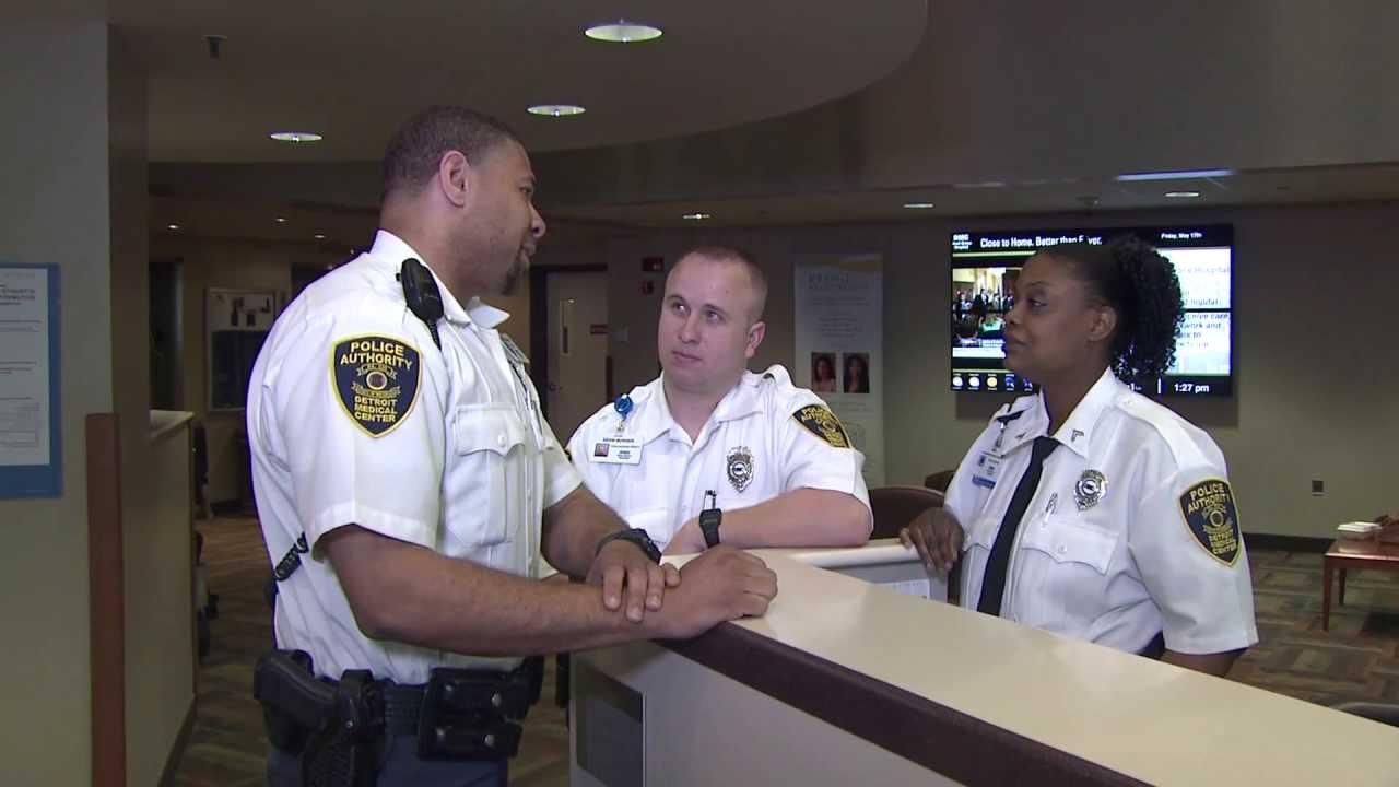 Dmc Sinai Grace Hospital Security Youtube