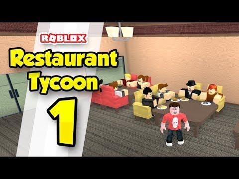 RESTAURANT TYCOON #1 - CHEF SENIAC (Roblox Restaurant Tycoon)