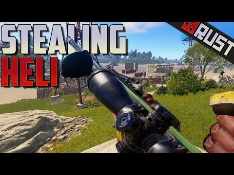 Stealing Heli From Zerg - Rust thumbnail