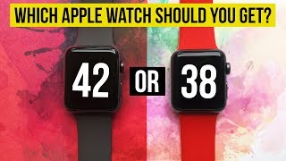 38mm or 42mm | Which Apple Watch ⌚️ is right for you? | Series 3 Series 2 Series 1