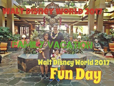 #vlog14 Walt Disney world vacation Orlando Florida 2017   Polynesian village resort