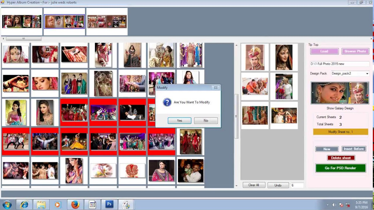 New Julie Pixel Touch Wedding Album Designing Software Free 600000 Psd Files Hyperbatchpro Youtube