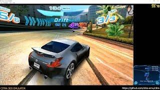 Citra 3DS Emulator - Asphalt 3D ingame 1080p (f556d6e)