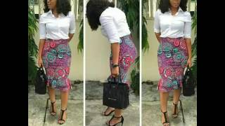 Beautiful And Smart Ankara Office Styles For Classic Women