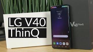 LG V40 ThinQ - pierwsze wrażenia. Smartfonowa klasa średnia?