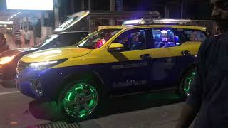 Pattaya taxi with disco lights 😂🇨🇷